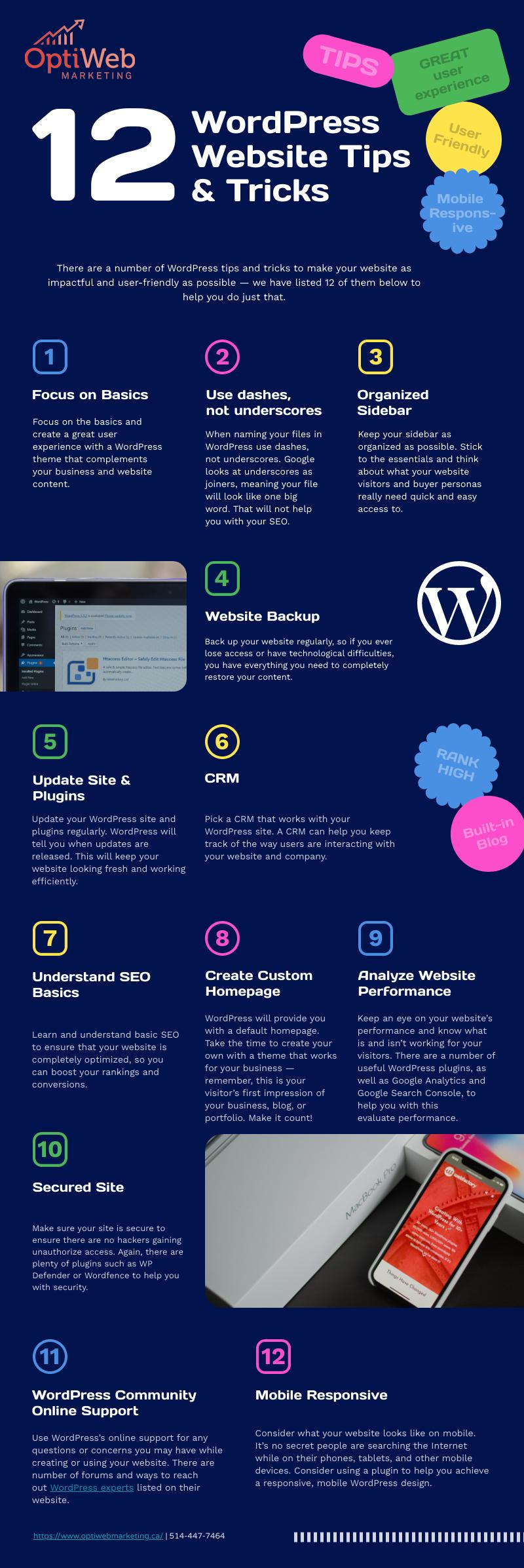 WordPress Website Tips & Tricks 2021