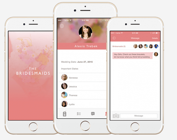 The Bridesmaid App