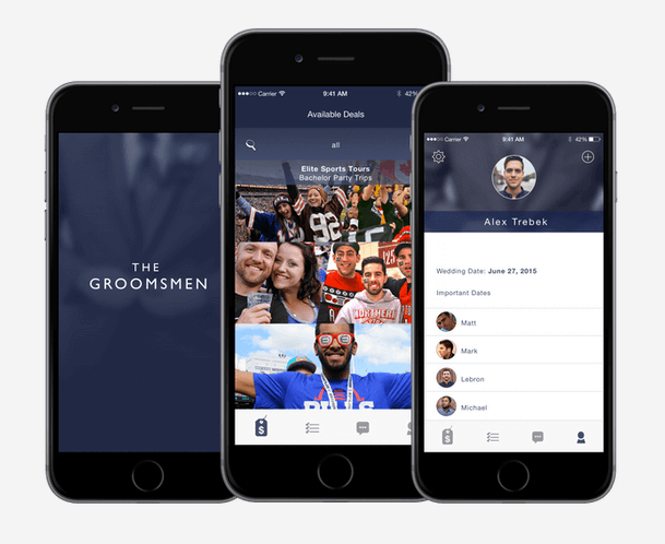 The Groomsmen App